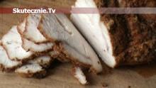 Domowa wędlina: szynka z indyka w przyprawach
