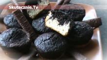 Dwukolorowe muffinki –wanilia i ciemna czekolada