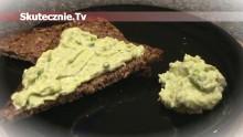 Pasta z awokado –świetna do pieczywa