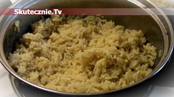 Ryż na masełku ziołowym i bulionie