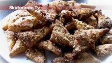 Trójkąciki korzenno-orzechowe, czyli pyszne, kruche ciasteczka