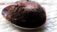 Bułeczka czekoladowa z serkiem pomarańczowym (Dukan)