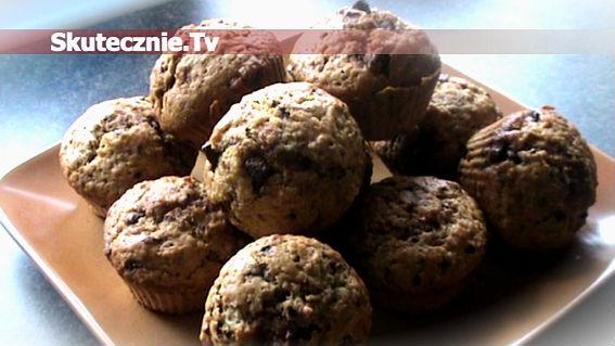 Muffinki kawowe z cynamonem i czekoladą