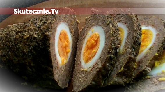 Pieczeń rzymska z jajkami