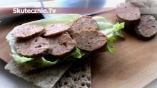 Pikantne kiełbaski drobiowo-wołowe