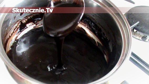 Polewa czekoladowa–najszybsza, ale pyszna