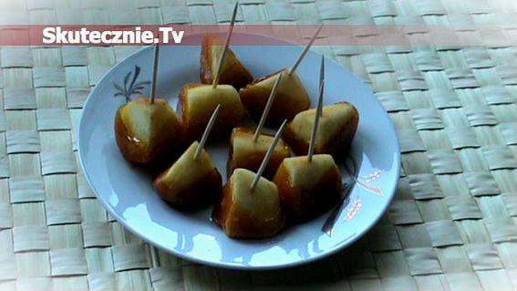 Proste jabłka w karmelu