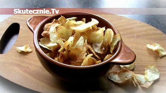 Jak zrobić cieniutkie i chrupiące chipsy domowe