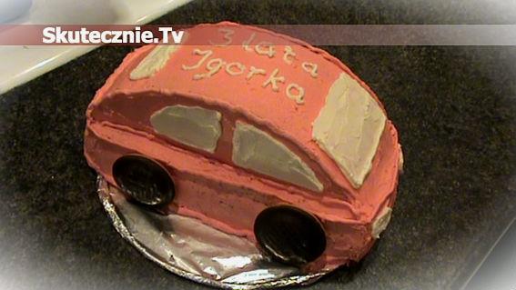 Jak zrobić tort/ciasto w kształcie samochodu