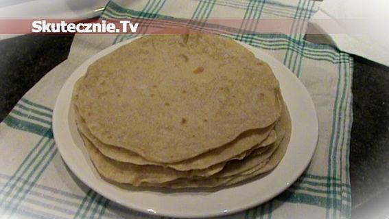 Tortille orkiszowe (lub pszenne)
