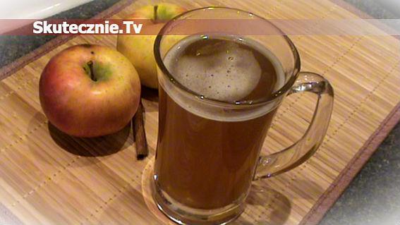 Piwo grzane z jabłkiem i cynamonem