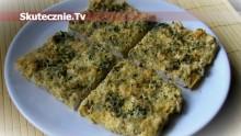 Kurczak zapiekany w jajku pod serem i pietruszką