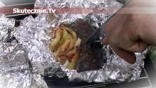 Kaszanka grillowa z jabłkiem, cebulą i majerankiem
