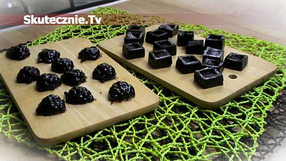 Pyszne czekoladowe cukierki -jak toffi czy krówki