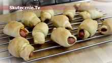 Świnki, czyli kiełbaski pieczone w cieście drożdżowym