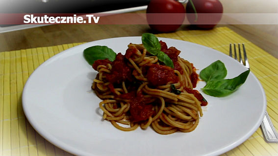 Sos pomidorowy -do spaghetti, makaronów, klusek