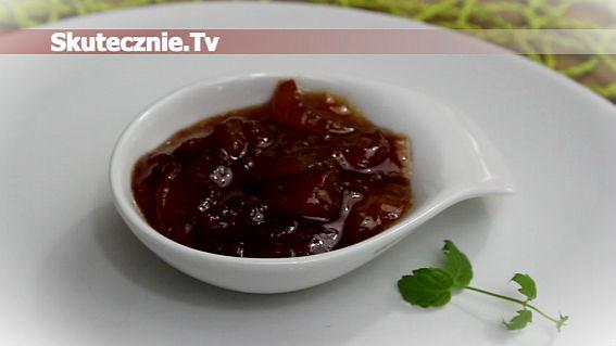 Dżem brzoskwiniowy z cynamonem i karmelem