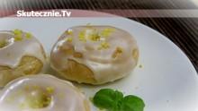 Oponki vel donaty z piekarnika (miękkie i pulchne jak pączki)