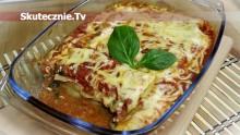 Cannelloni z indykiem, szpinakiem i suszonymi pomidorami