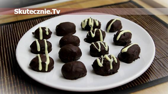 Pralinki czekoladowe w kształcie jajek