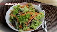 Smakowity sos sałatkowy (+prosta sałatka)
