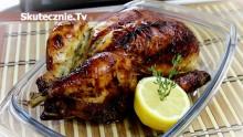 Pieczony kurczak w pysznej marynacie