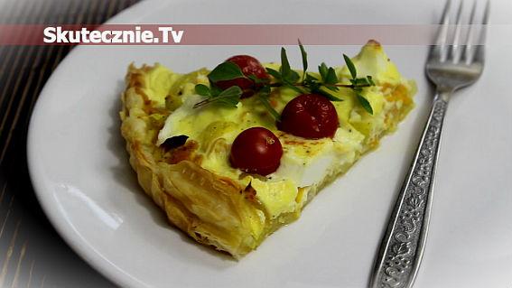 Tarta z warzywami sezonowymi