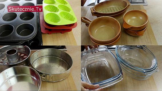 Blachy i naczynia do pieczenia -jakie mam i jak z nich korzystam