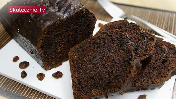 Ciasto czekoladowe z rodzynkami