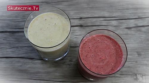 Shake owocowy z lodami (2 przepisy)