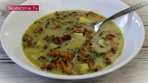 Pyszna zupa z kurek