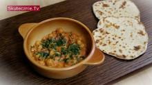 Proste curry z ciecierzycą, pomidorami i mlekiem kokosowym