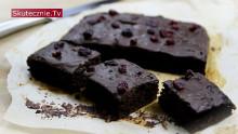 Nietypowe brownie z żurawiną (gościnne gotowanie)