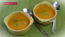Zupa pomidorowo-paprykowa z mlekiem kokosowym