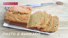 Pełnoziarnisty chlebek, babka, ciasto z awokado