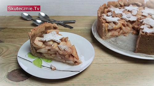Kruche ciasto z gruszkami
