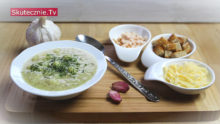 Zupa czosnkowa. Cesneckova polevka –vyborna