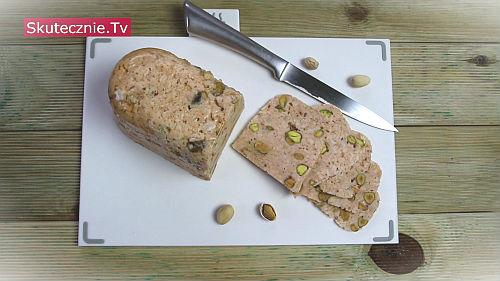 Chuda mielonka drobiowa z pistacjami