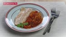 Pyszna ryba w pomidorach i papryce