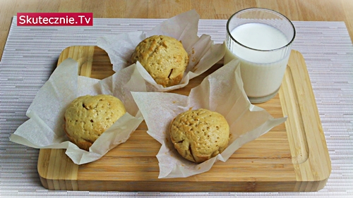 Pulchne muffiny waniliowe Kacpra