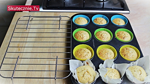 Pulchne muffiny waniliowe