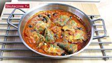 Tadżin z rybą –sum z czarnym ryżem