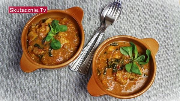 Pełne smaku curry z kurczakiem