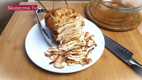 Domowy kebab drobiowy (z piekarnika)