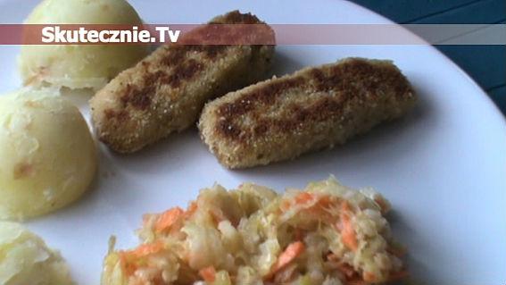 Paluszki rybne w chlebowej panierce