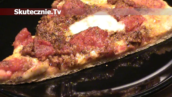 Pizza jak z pizzerii: wołowina, podwójne pomidory i extra ser