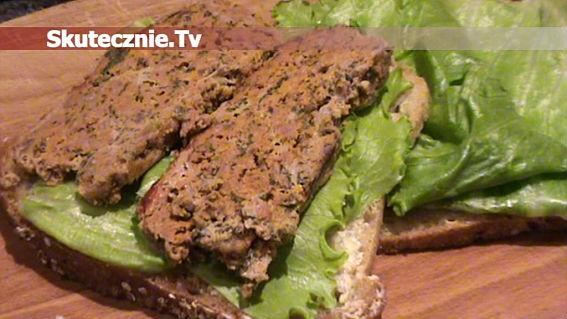 Pomidorowo-szpinakowa pieczeń mięsna z kaszą
