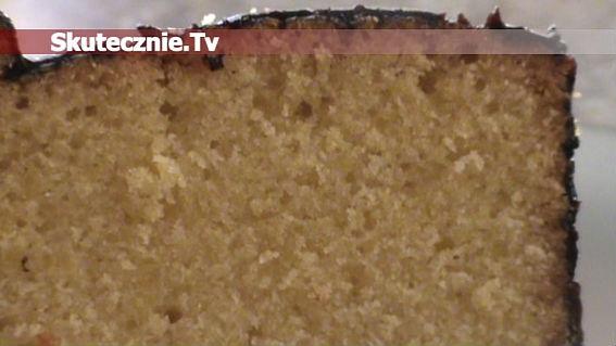 Babka cytrynowa w polewie czekoladowej
