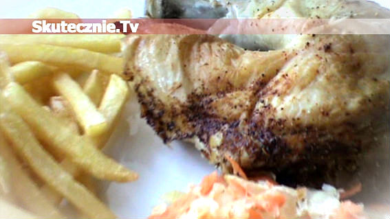 Kurczak na soli –soczysty i kruchy