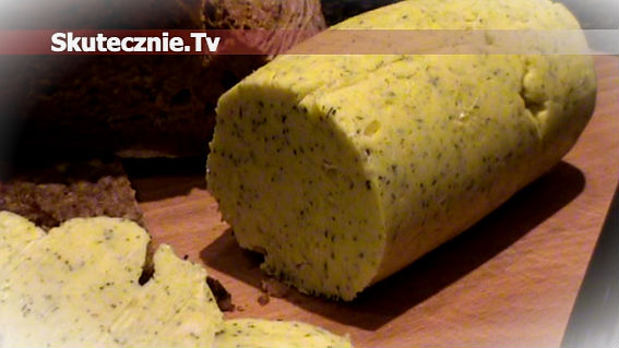 Masło czosnkowo-ziołowe –wspaniałe do mięs, ryb, pieczywa